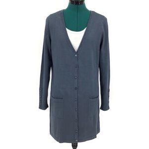 Yest Yaella Thigh Length Cardigan with Pockets, 8
